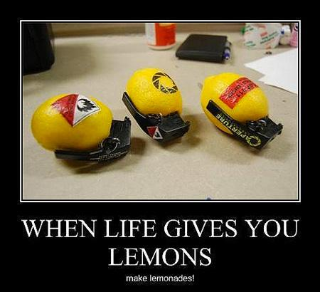 For our Gamers out there - When life gives you lemons, make Lemonades!... http://t.co/5eyslNxpVu