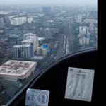 Abhay in a helicopter with our listeners virjan processions dekhne nikla and this is the view. http://t.co/zXAofkN5D2
