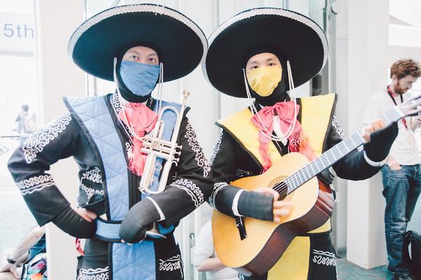 Con ustedes, los Charros del Kombate Mortal, Bajo Cero y El Escorpión /via memexico http://t.co/ekjtwfbjeW