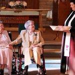 RT @stevesilberman: Pic of the day: After 72 years together, Iowa women can finally marry. http://t.co/yvjR8qgDGu