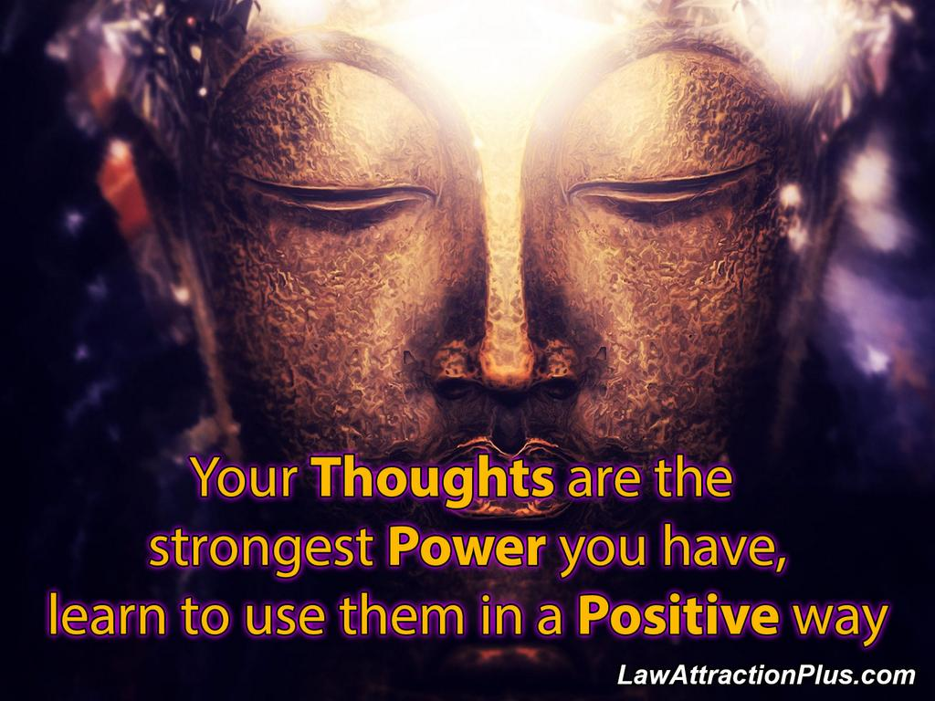 """""""Your thoughts are the strongest power you have, learn to use them in a positive way."""" http://t.co/2arXCD5BSp"""