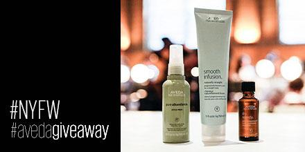 It's back! RT this image by 11:59pm ET for a chance to win our #NYFW #AvedaGiveaway! http://t.co/o5WYCjDFWV