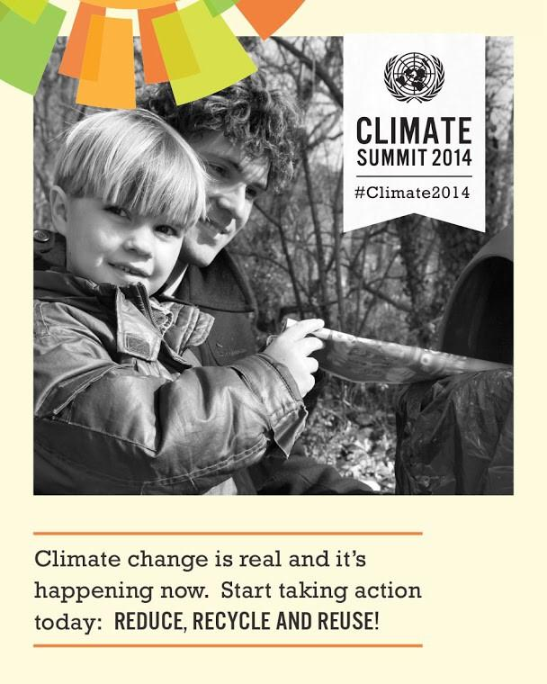 RT @UN: Climate change affects us all. Take #Climate2014 action: reduce, recycle, reuse! See how: http://t.co/HhlqU8Vl3Q http://t.co/wAaNpY?