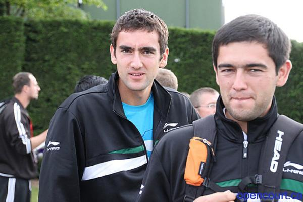 The Cilic brothers. CC @marcos_z http://t.co/GOW5LmU3ws