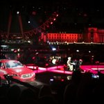Pleasant evening watching Emili Sandee at the launch of the new @Jaguar XE on the Thames. #FeelXE http://t.co/Ti7cFhfEgD