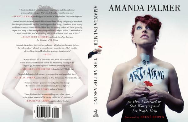 I may've suggested that @amandapalmer get Bono to write blurb for her book & he may have wrote 1. ok i did & he did: http://t.co/H5ZZFRET6W
