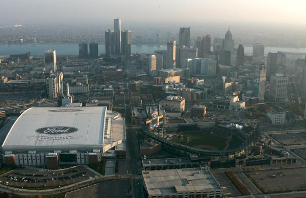 .@Tigers win 9-5.  #Lions win 35-14.  It was a great day to be in the D. http://t.co/GGABB1EU6r