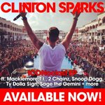 RT @ClintonSparks: Out NOW! #ICONoclast EP w #Macklemore #SnoopDogg #TI #TyDollaSign #2Chainz #Tpain #SageTheGemini #GetFamiliar @Itunes ht…