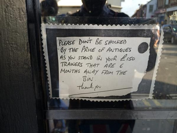 I do like this sign in the door of the one I did find though http://t.co/sz30EzN4Ae