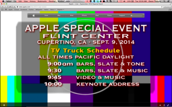 I don't think Jony Ive designed this #AppleEvent http://t.co/IGGfYlb1D3