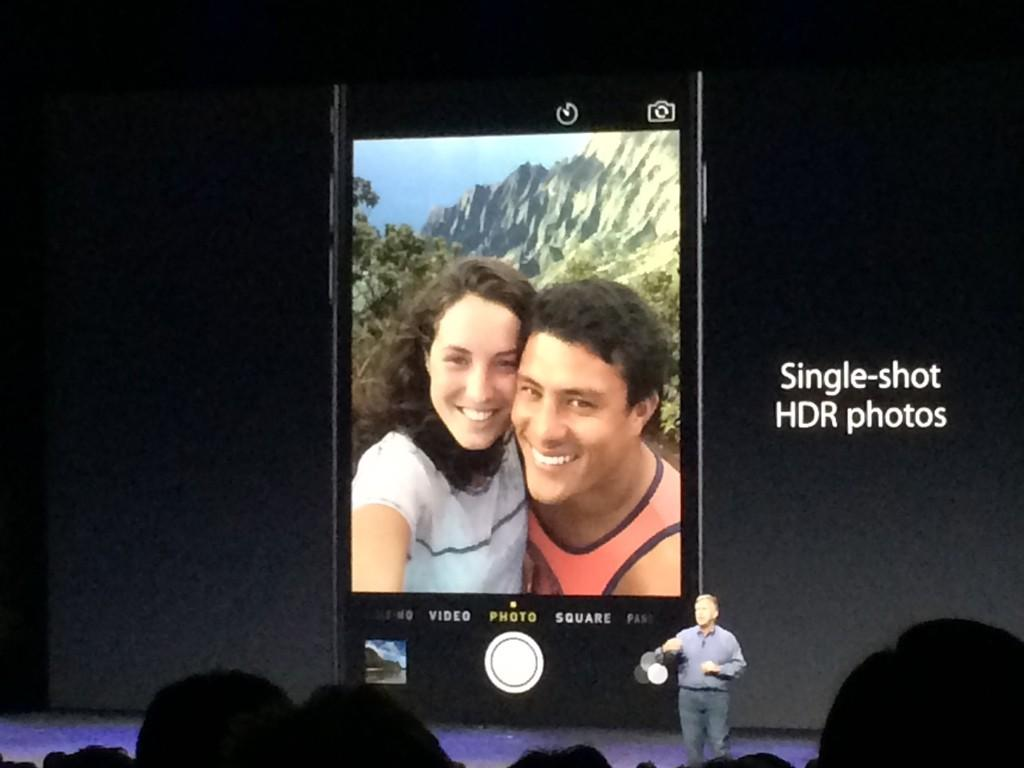 The iPhone 6's cameras are, surprisingly, the most exciting thing about the new devices #AppleLive http://t.co/CtJWRsxW4u