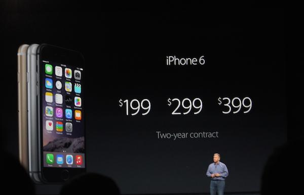 iPhone 6 starts at $199 http://t.co/tGFDydNsgG