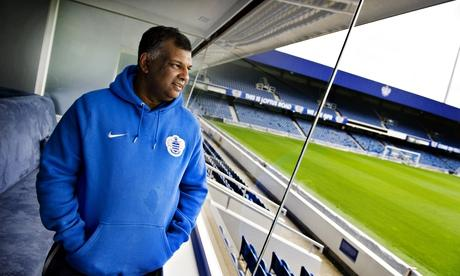 QPR 'could be relegated to Conference' unless they pay £40m FFP fine @owen_g http://t.co/AdnxGdd6w5 (Pic: Guardian) http://t.co/uueJ5663Rs