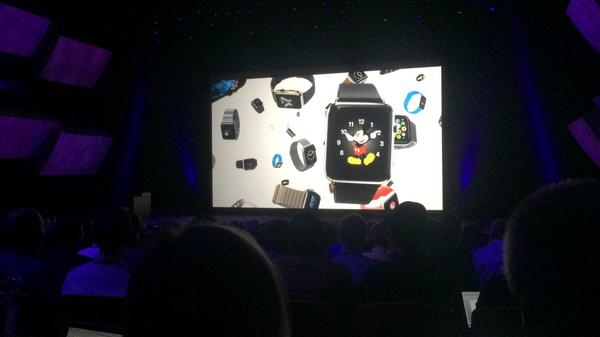 Apple introduces the Apple Watch. http://t.co/Jy3tfXRHiZ
