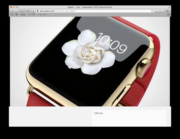 Apple Watch。このゴールドボディにレッドのバンドver、この組み合わせが最高に欲しい♡ブランドバージョンくるかな?? http://t.co/stKtQxb1JC