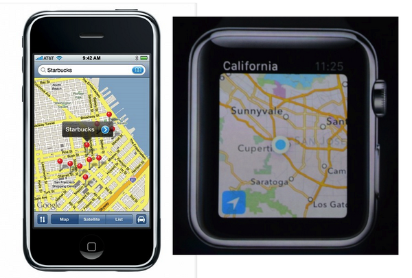 In a few years the first Apple watch will look how the original iPhone does now. http://t.co/Mq84CnsWSn