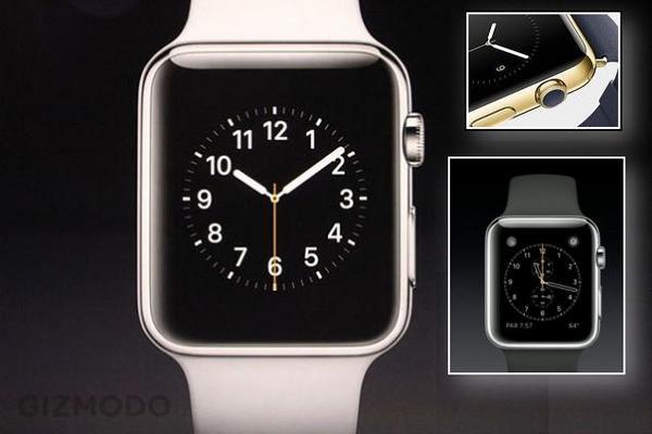 Primera imagen oficial del Apple watch http://t.co/H9aoJFJMCM