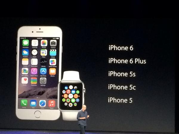 This is what Apple Watch will work with. #applelive http://t.co/0weCCZsW8X