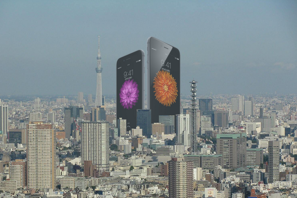 iPhone6 Plus予想以上にデカイな。 http://t.co/W1jnqKgBwB