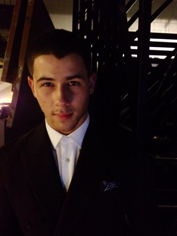 I love to see a brother get ahead. @nickjonas backstage at @FashionRocksTV http://t.co/EjdG7XrugJ