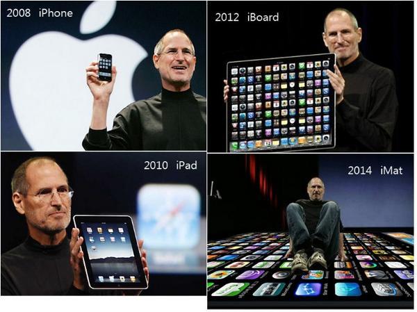 本来ならばAppleのラインアップはこうなるはずだった http://t.co/xCyWtLuGVe