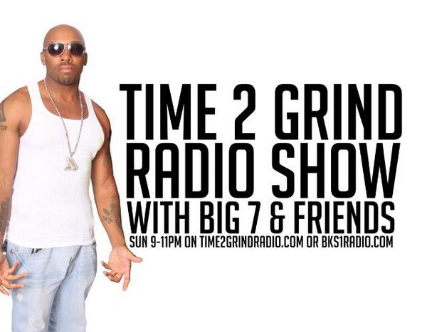 All #unsigned #artist can get airplay on @iamBig7's Time2grind radio sign up @ -> https://t.co/H5fjE8n2IH https://t.co/bvX474kZ0E RT