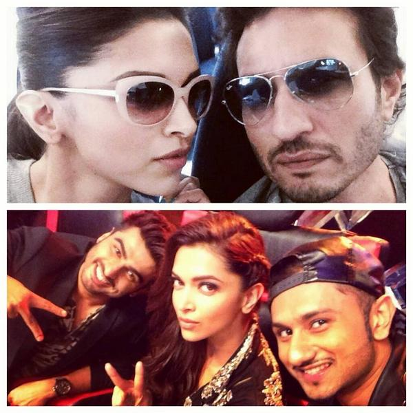 RT abpnewstv ALL FUN IN ONE FRAME Finding Fanny actors at their best with asliyoyo  All pictures he