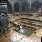 This small ancient temple in mahabaleshwar is said2 be the source of river Krishna.the flow of the water is perennial
