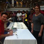 RT @Momentum_za: Our new employee, @GraemeSmith49  signing some autographs for staff members at our head office in Centurion. http://t.co/x…