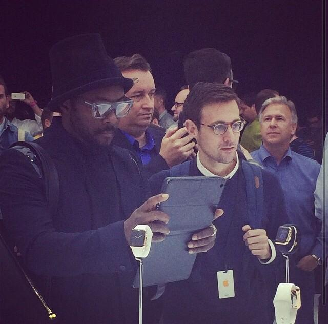 Good to meet @iamwill at the Apple event yesterday http://t.co/nsXKh84e0Y