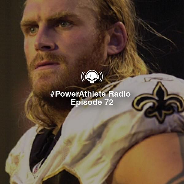 Ex-Saint @KyleTurley is going to be coming in your ears on this week's Power Athlete Radio: http://t.co/7Cc3CMqQ2b  http://t.co/jAjYQiPSId