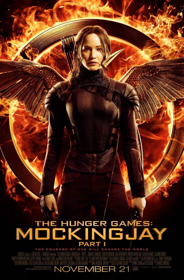 Here's a new poster for @TheHungerGames Mockingjay Part 1! #hungergames #OurLeaderTheMockingjay http://t.co/wK7jxGAudz