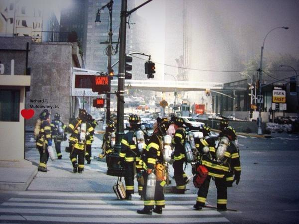 RT @jennaaa_adele: @Sept11Memorial  In honor of tomorrow,the last picture of my uncle &Ladder7 Engine16 before entering the WTC #myheros http://t.co/8TlnmOLrEi