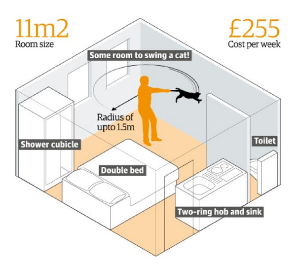 """@liamstack: The @guardian wins news graphics today for this illustration of tiny London apartments http://t.co/ockz24X8fc"" @1607WestEgg"