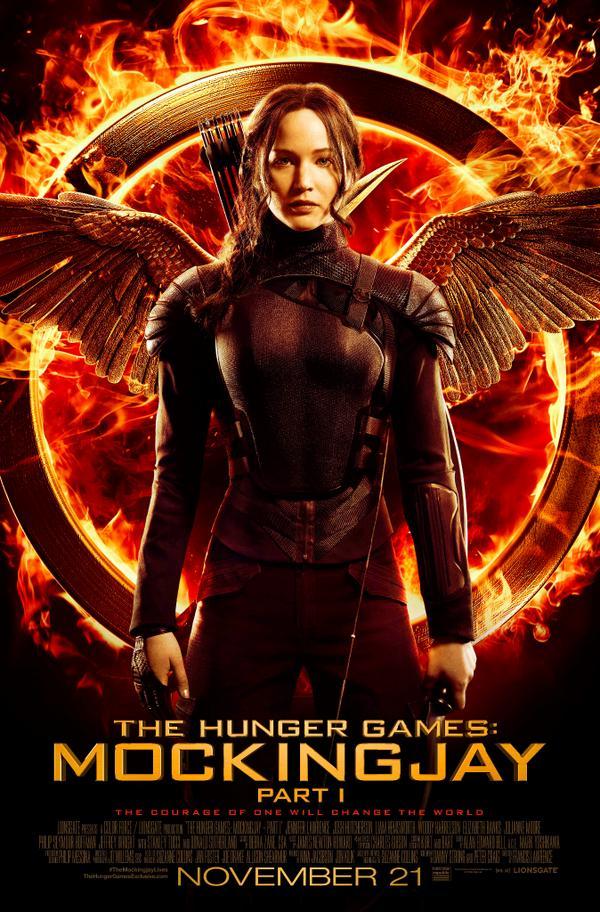 Katniss has arrived. #TheMockingjayLives http://t.co/Dwm3mNRJb7