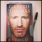 RT @Atheharv: Gearing up for GT day tomorrow! @gareththomas14 @EburyPublishing #Proud http://t.co/1cb7M6uHSp