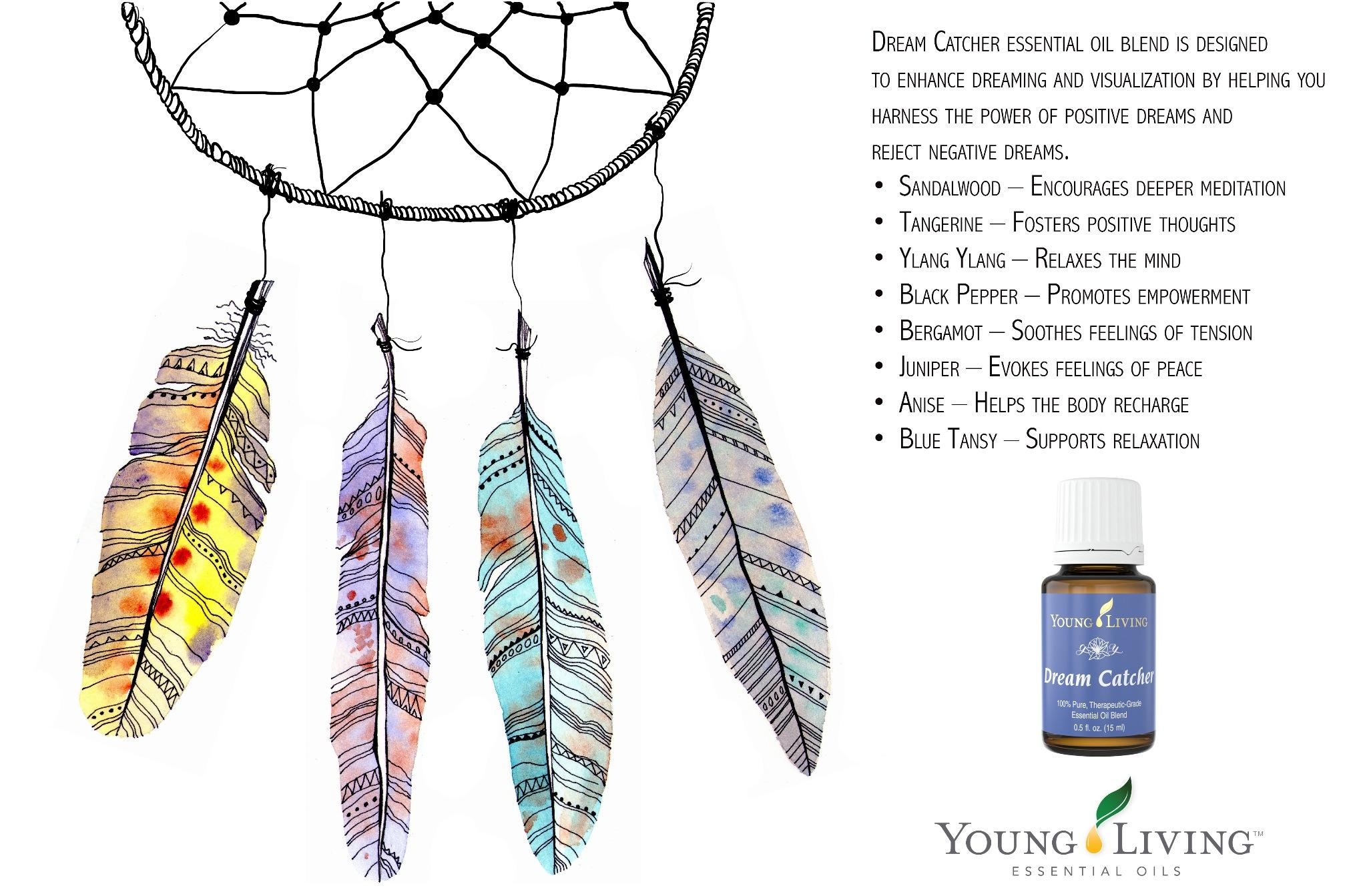 Sweet dreams! Dream Catcher essential oil blend is designed to enhance dreaming and visualization. #YLtips http://t.co/KqYC3q7sJI