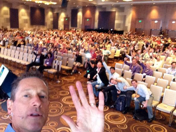 It's the enthusiastic crowd at @Sitecore Symposium looking sharp! #symna http://t.co/xCoC1gH8nq
