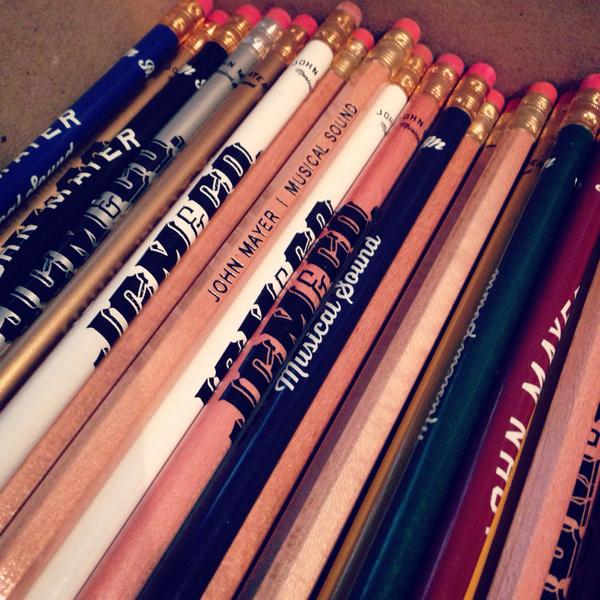 Pencil me in when you can?  (new batch of stuff coming to the @JMStore next week) http://t.co/vjJkRHcwRv