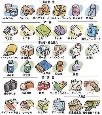 札幌市の崖や斜面や山の近くの方々、服をきて避難準備して、携帯充電して、無事でいてね。  茨城市のサイトから、非常時の持ち出し品を。 http://t.co/izB2PmXXNn http://t.co/vNsHoNxe5c