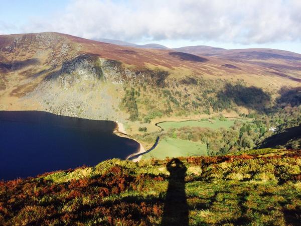 Stunning! RT @seankoi: #bestplacetobetoday Lough Tae Djouce #wicklow #Ireland http://t.co/EFa0hVHEL7 #lp #travel
