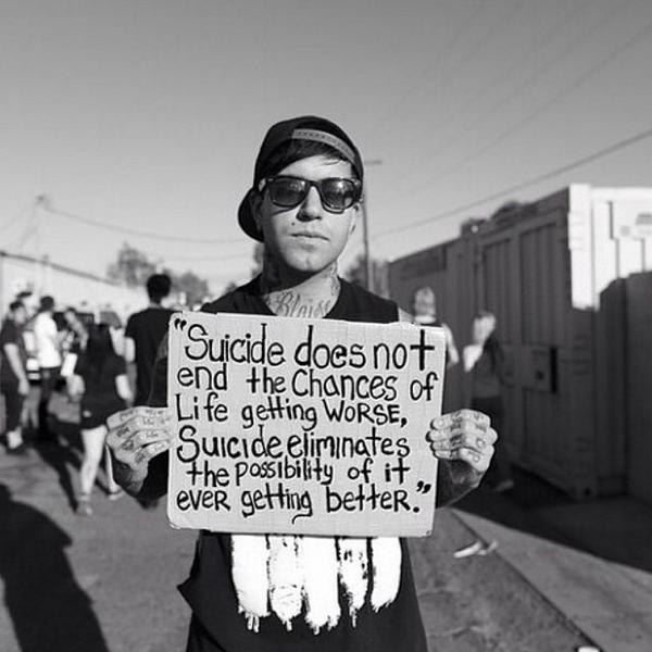 In honor of #SuicideAwarenessDay: http://t.co/l4bamHFAZi