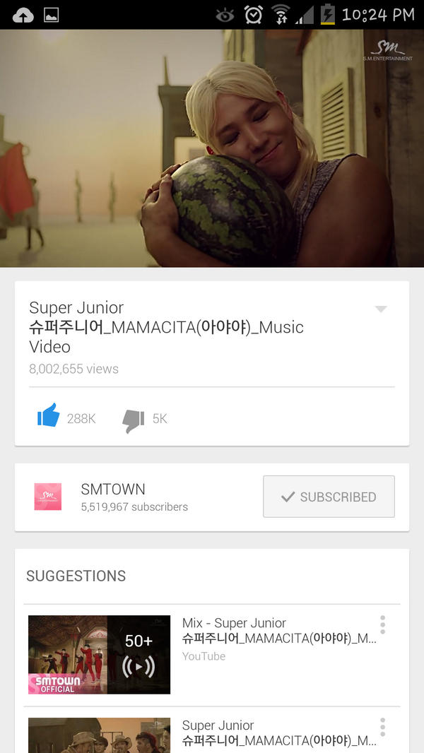 Yay we reached 8 million!! Way to go elf!! #슈퍼주니어 http://t.co/QUIIRylZld