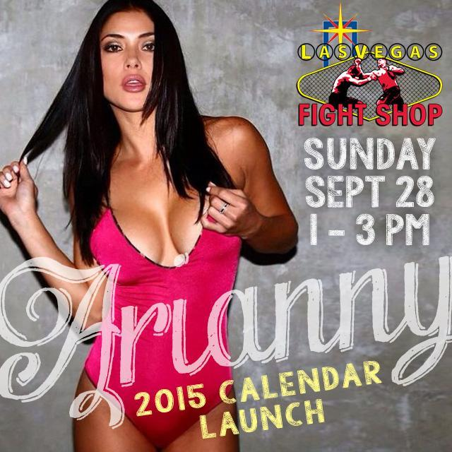 Arianny Celeste @ariannyceleste: RT @LVFightShop: Sunday Sept. 28th we welcome back #UFC Octagon Girl @AriannyCeleste to launch her new 2015 Calendar at @LVFightShop! http:…