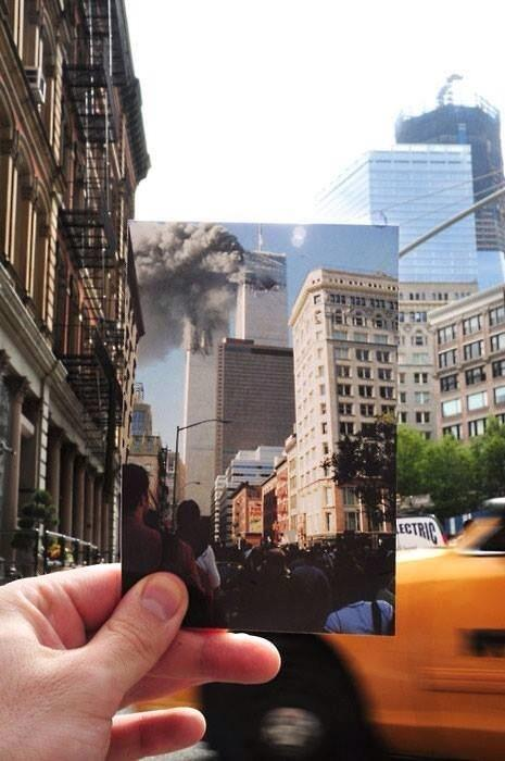 Possibly the most powerful #tbt I've seen today #Remember911 http://t.co/mvqA0Ylkkm