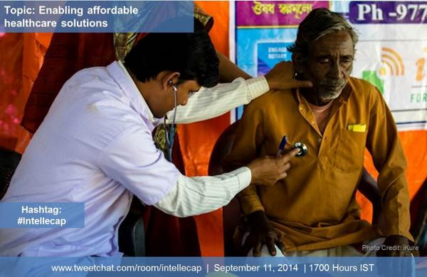 Join the #intellecap tweetchat on enabling #affordablehealthcare solutions in #emergingmarkets today at 5 pm IST! http://t.co/BDonUPMYSL