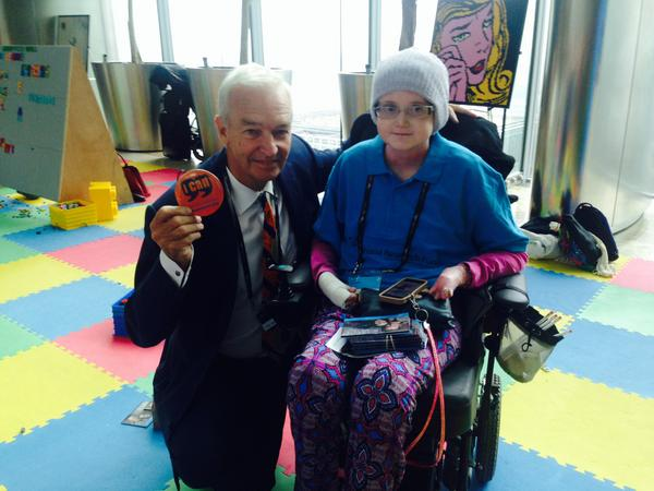 At #BGCCharityDay representing the Sohana Research Fund  @SohanaResearchF. Met @jonsnowC4 who supports I CAN. http://t.co/61Ze8wOFTC