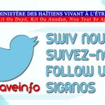 YOU ARE HAITIAN? YOU LEAVE IN THE DIASPORA? YOU LEAVE IN HAITI? JUST FOLLOW US ON TWITTER AND LIKE OUR PAGE http://t.co/5L0PHLmMTu