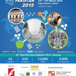#3P #PlasPrintPack -15,The Largest&most successful exhibition-#Pakistan,UFI Approved event. http://t.co/3zlGGL5M51