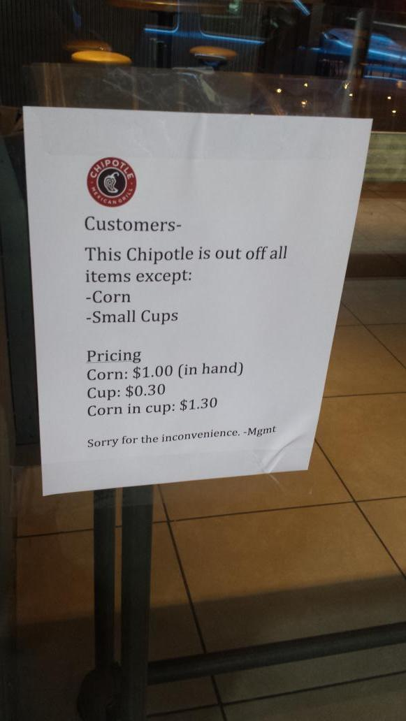 LMAOOOO RT @danielralston: This Chipotle has gone mad. http://t.co/4RBubYWhFW